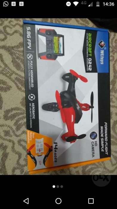 Dron Igual a Nuevo con Camara Hd