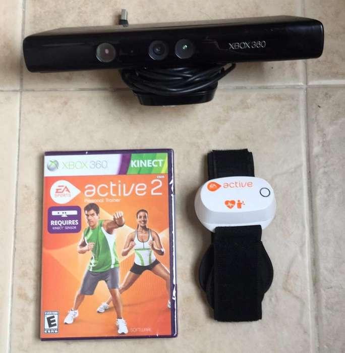 Kinect Xbox 360 con Juego Active 2