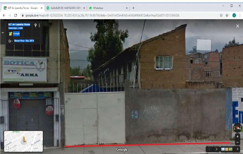 OCASIÓN VENDO TERRENO EN SAN CARLOS HUANCAYO