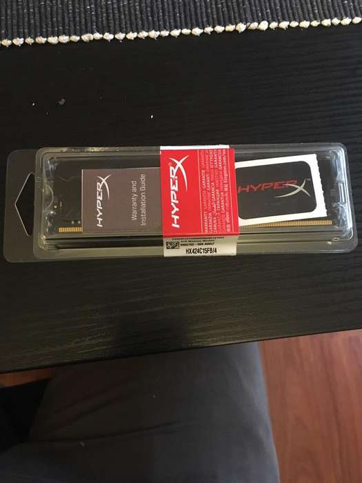 Memoria RAM 4G HyperX HX424C15FB4