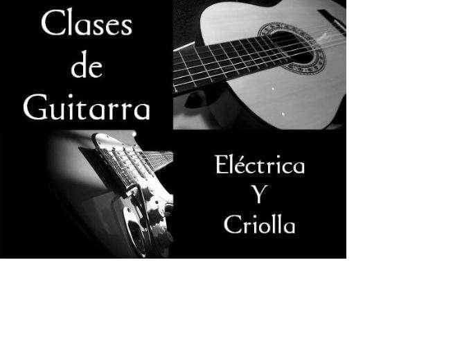Clases de Guitarra. Española, Acústica y Eléctrica. Personalizadas. Todos los niveles y estilos.