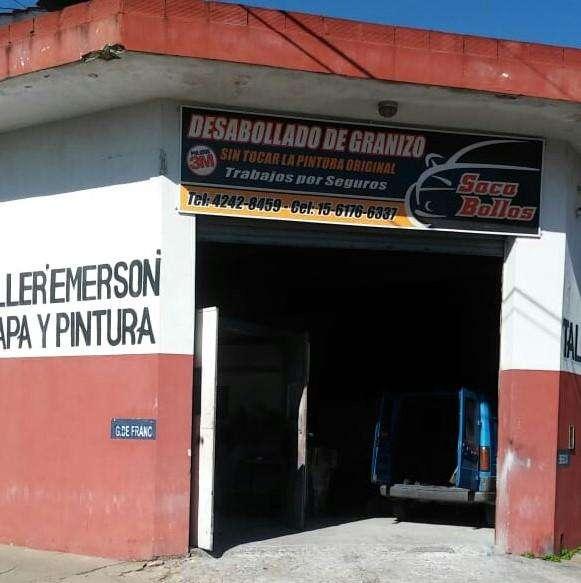 TALLER DE CHAPA Y PINTURA zona SUR.
