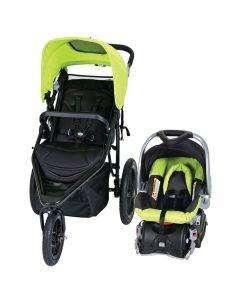 coche babytrend con silla auxiliar
