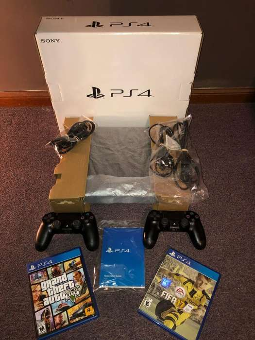 Playstation 4 Slim 500Gb 2 Joystick