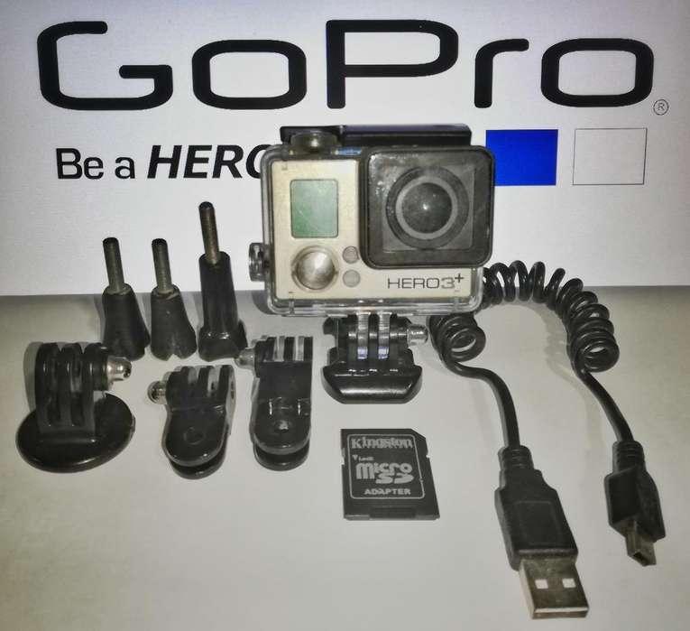 Gopro Hero 3 Silver Plus
