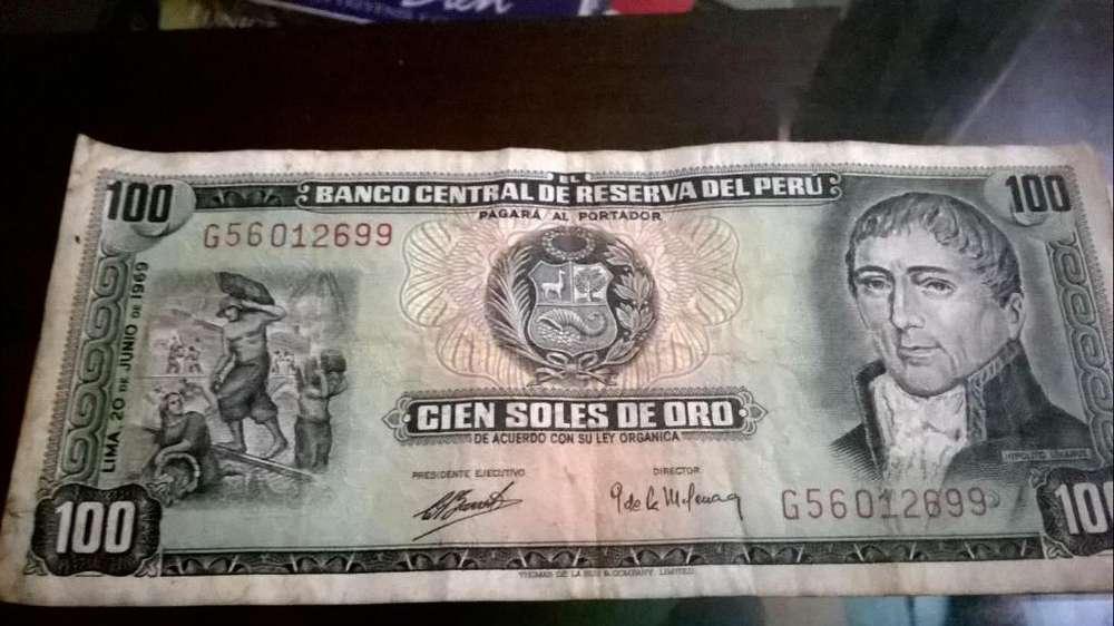 Billetes Antiguos del Peru