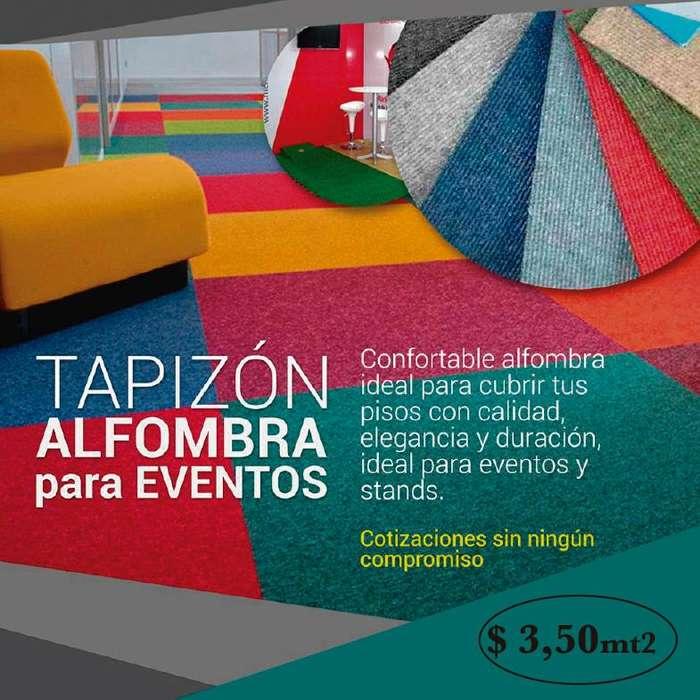 TAPIZON <strong>alfombra</strong> PARA EVENTOS