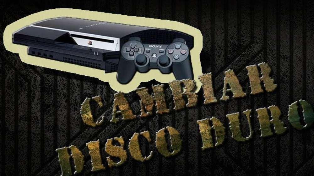 Cambio De Disco Duro Interno Para Playstation 3
