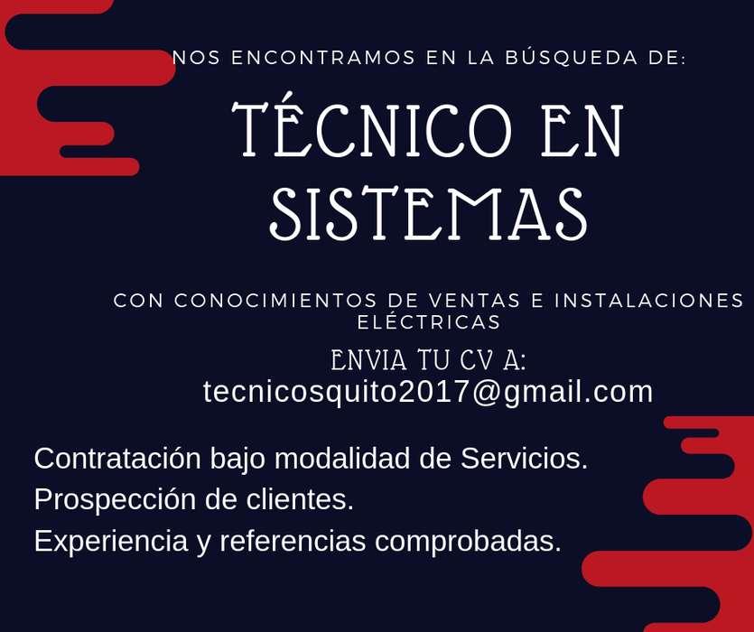 Técnico en Sistemas