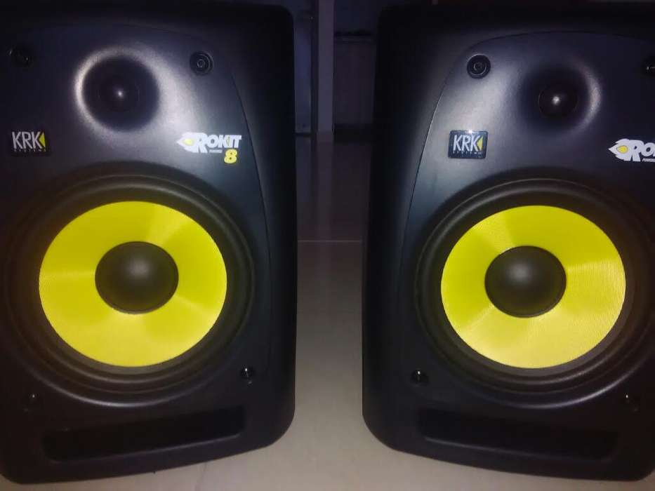 <strong>monitor</strong>es Krk Rk8 Rpg2 Profesionales