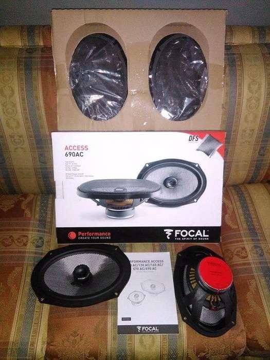 Parlantes Focal Access 690 Ac 6 X9 - Ovalados Nuevos - No Pioneer No Sony No Dls No Jl Audio No Kenwood No Alpine