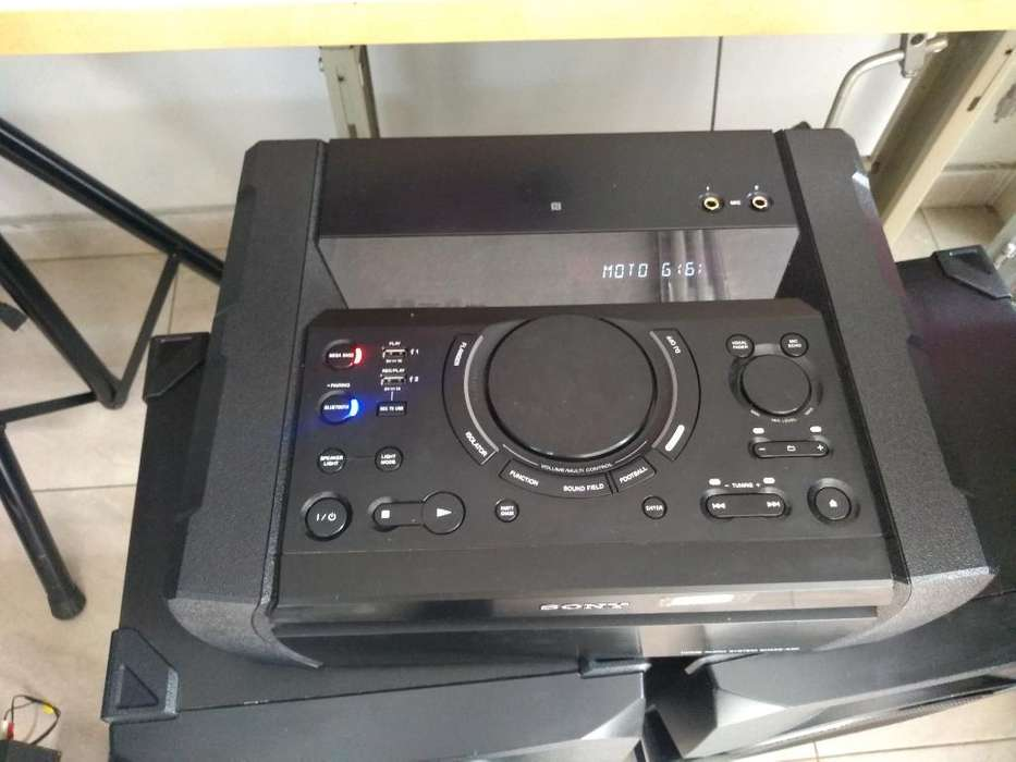 Equipo Sony Shakex3 Dj Bluetoot