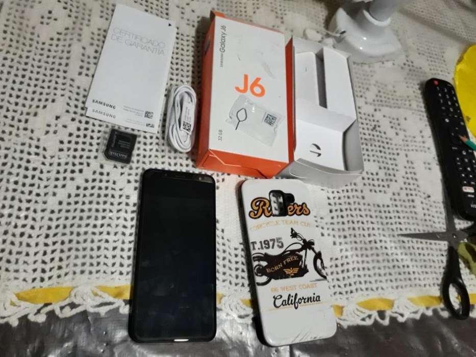 Samsung J6 sin Detalles