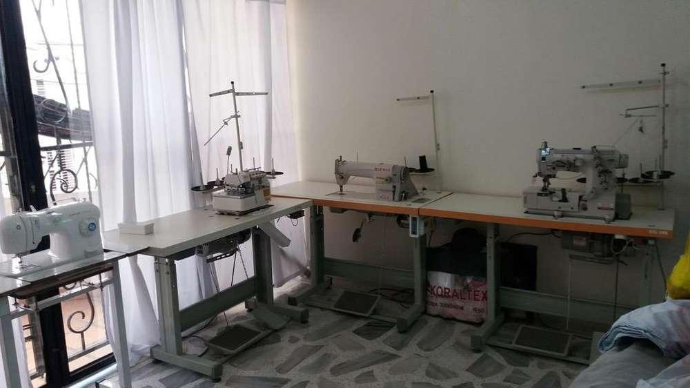 Maquinas de Taller de Costura