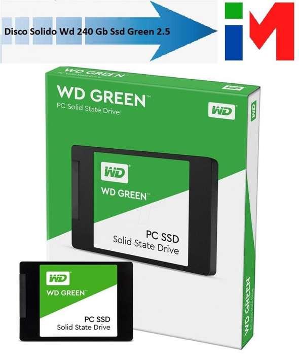 Discos Solidos Ssd 240gb Western Digital Green Wd PROMO !!!!