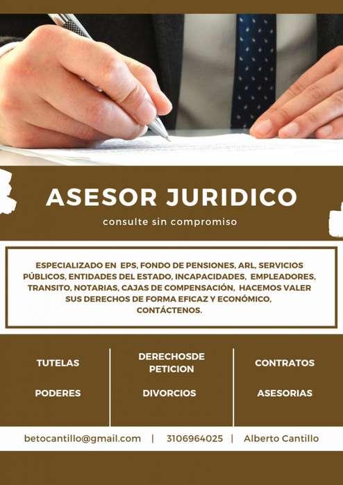 tutelas, derechos de peticion, contratos, poderes, transito,