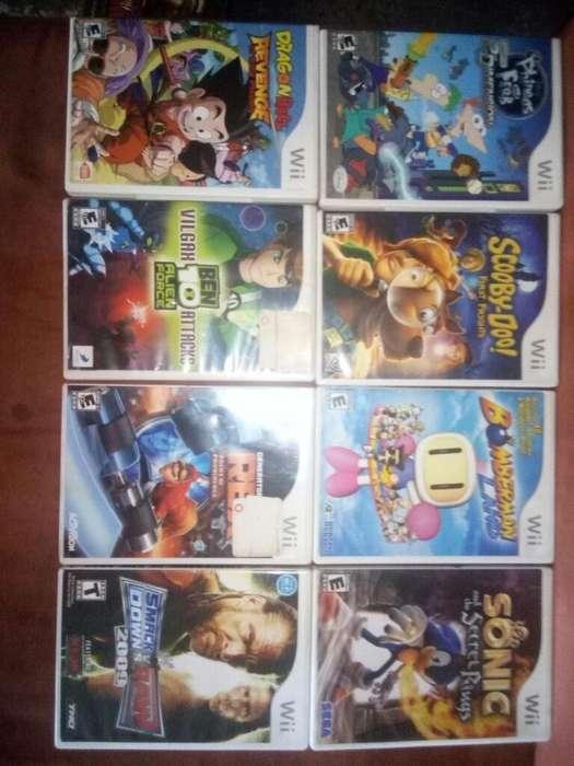 Juegos Originales para Nintendo Wii