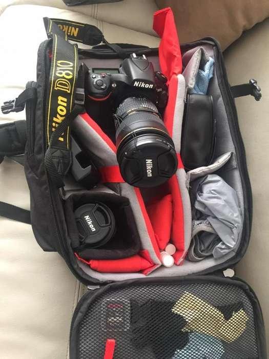 Vendo Cámara Nikon D810