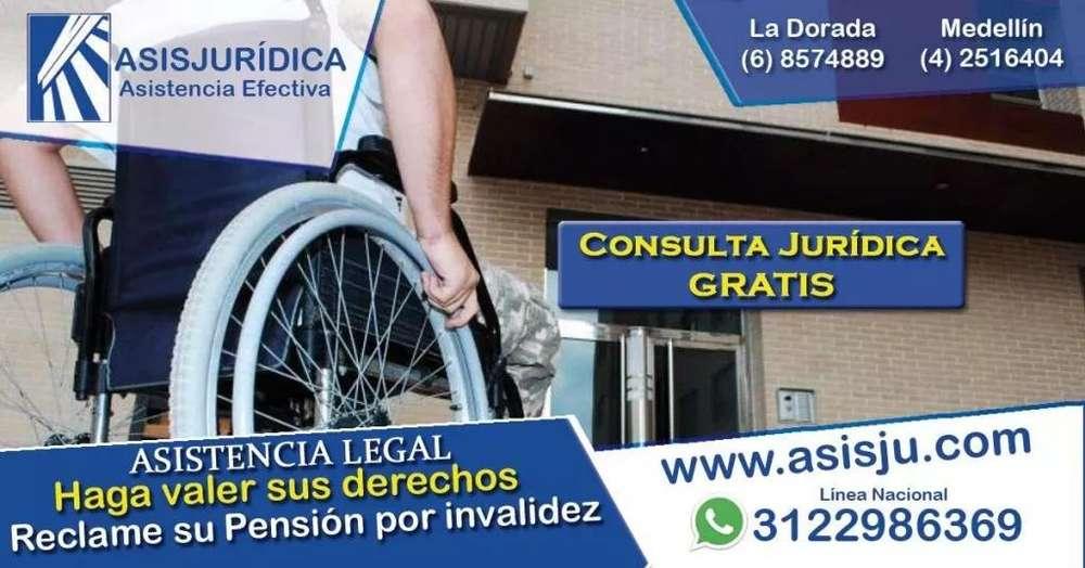 Cómo puede reclamar su pensión de invalidez - Consultorio Jurídico - Asesoría Jurídica - Abogados especializados