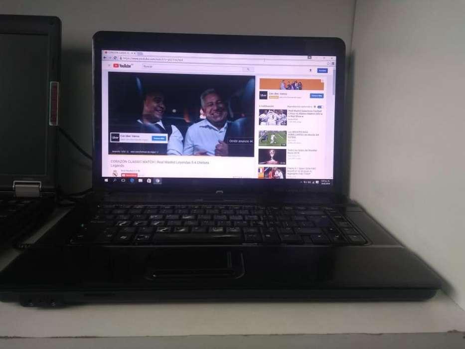 Notebook Compaq Core 2 Duo ,4 Gb Win 10