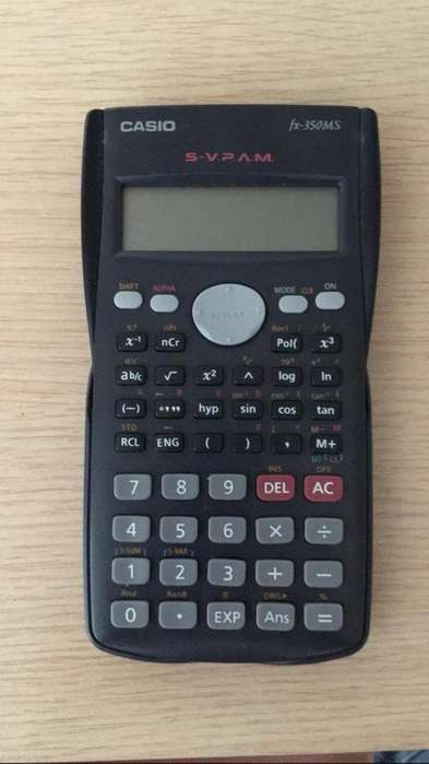 Calculadora Casio Fx-350ms