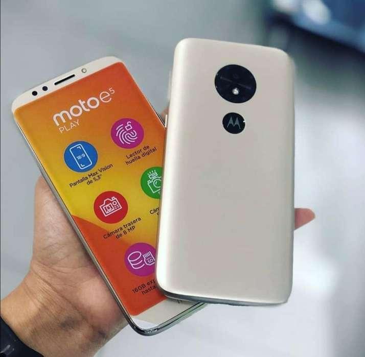Moto E5 Play 16GB Nuevos Sellados Garantía