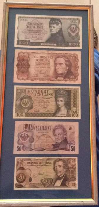 Coleccion de Billetes Schilling Austria