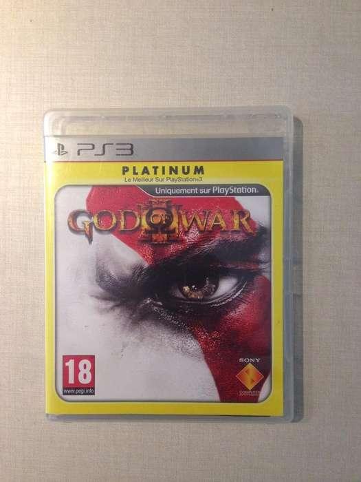 Juego de Ps3 God Of War 3 Perfecto Estado