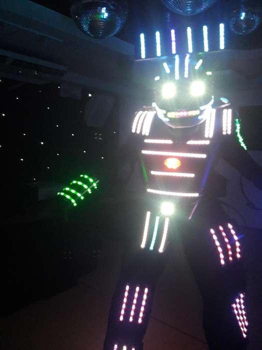 Vendo Traje de Robot para Eventos