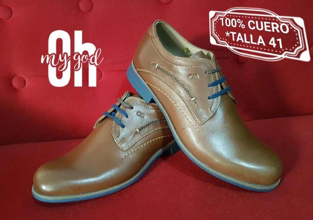 a57c7966 Zapatos <strong>calimod</strong> 100% Cuero ...