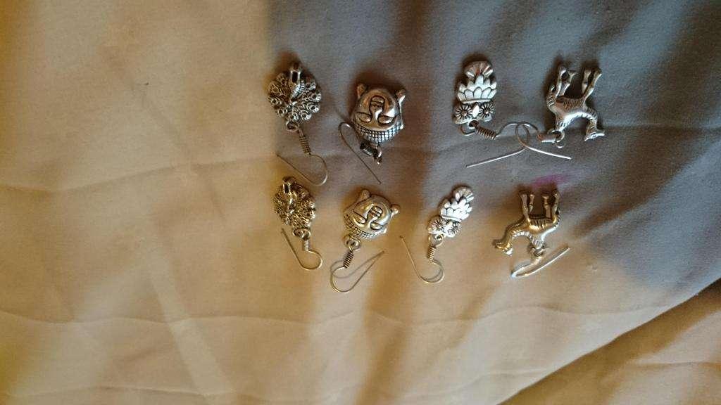 aros de plata india