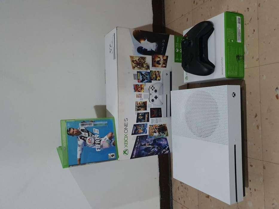 Xbox one s 1tera mas fifa 19 mas control original