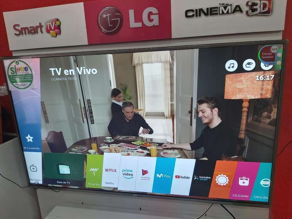Vendo Tv 55 Pulgadas Smart Tv 4k