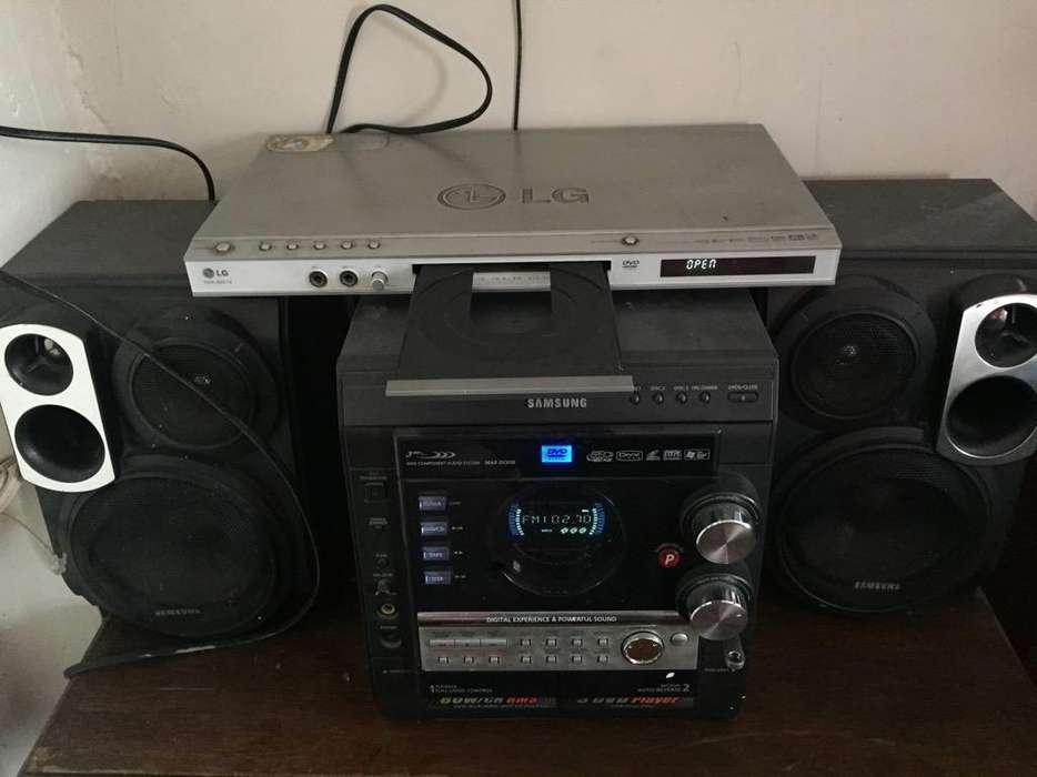 Equipo Sonido & Dvd