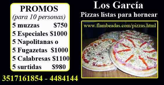 Pizzas listas para hornear. Pizza-party