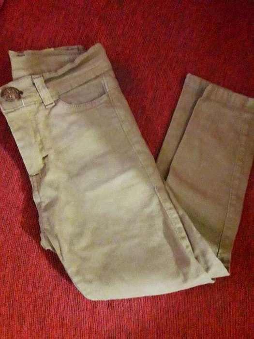 Jeans Chupín Elastizado de Niño Talle 4