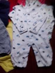 Ropa de Bebe T 3 Carter's 9 Prendas X