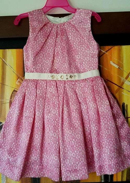 Vestido Elegante Para Niña Talla 4t Boutique Americana