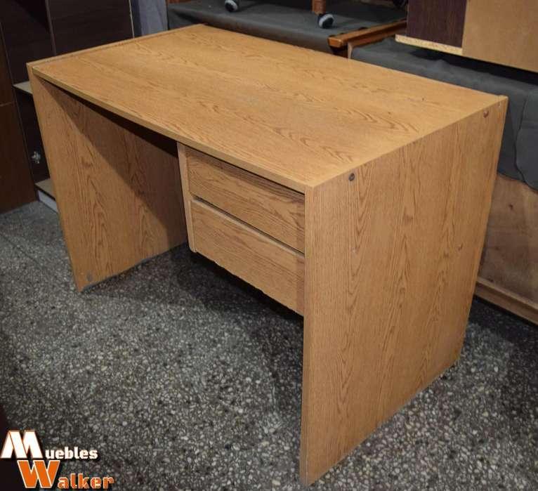 <strong>escritorio</strong> GRANDE de melamina 2 cajones con guías