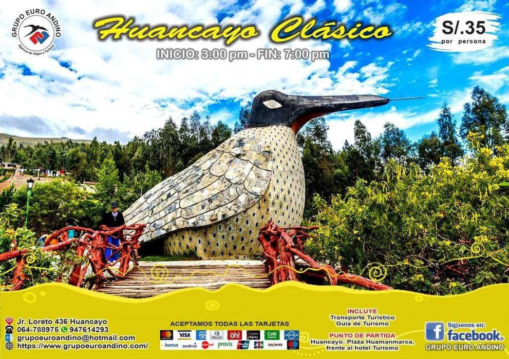 HALF DAY - HUANCAYO CLÁSICO