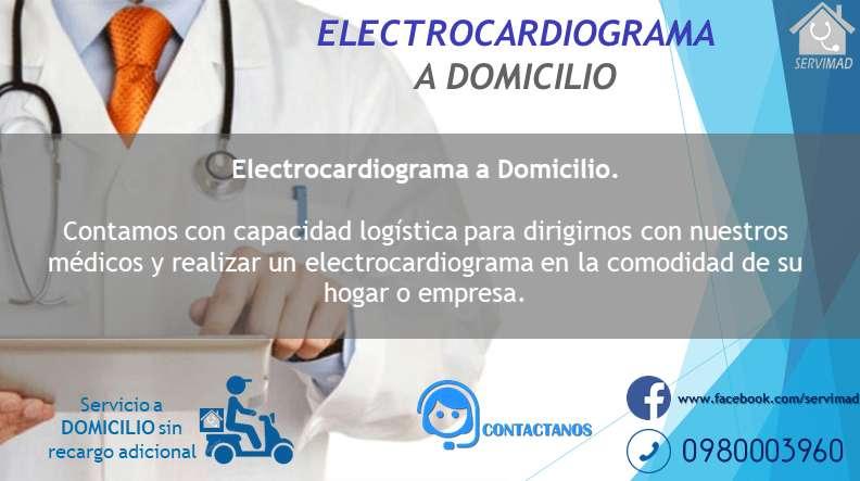 Electrocardiogramas a Domicilio.