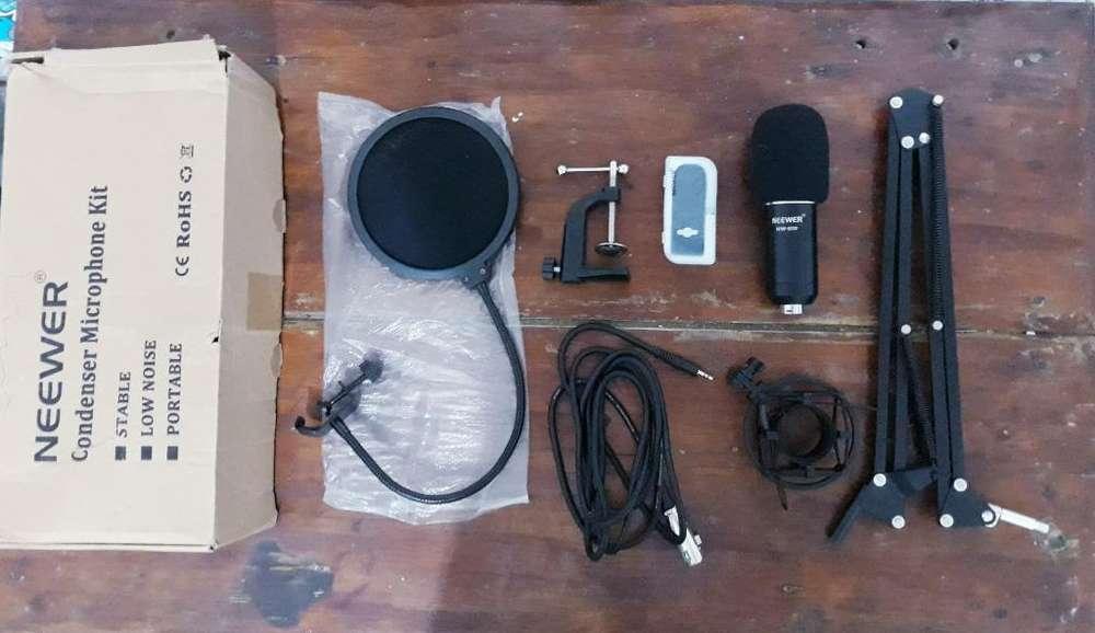 Kit Micrófono Condenser Neewer Nw-800