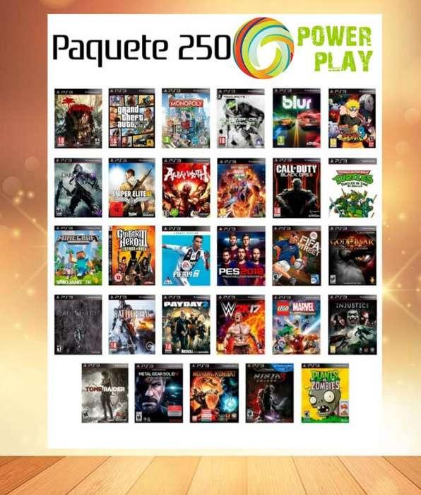Juegos para Play 3 Originales Disco Duro