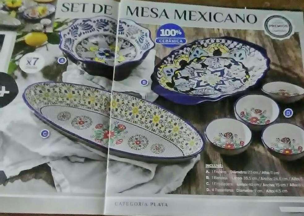 Set de <strong>mesa</strong> Mexicano