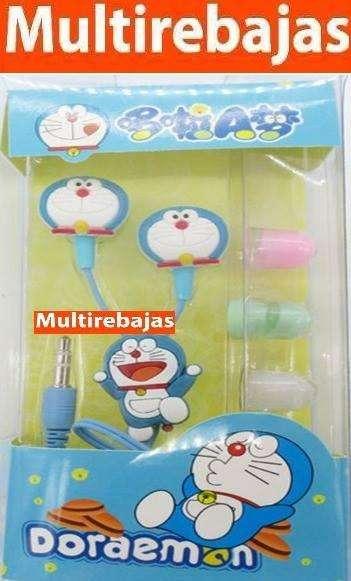 Audífonos Muñecos Doraemon