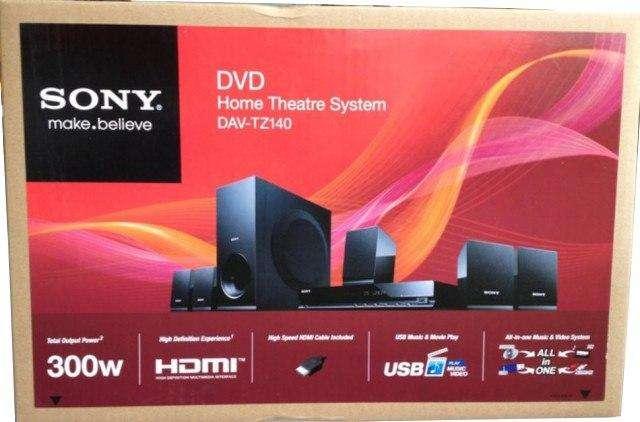 Teatro En Casa Sony 5.1 Dvd 300w Hdmi usb Nuevo en caja