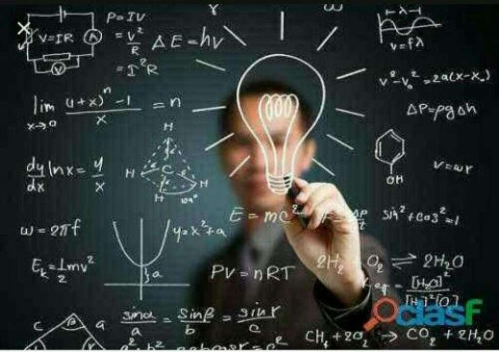 Se Dictan Clases de Matematica Y Fisica