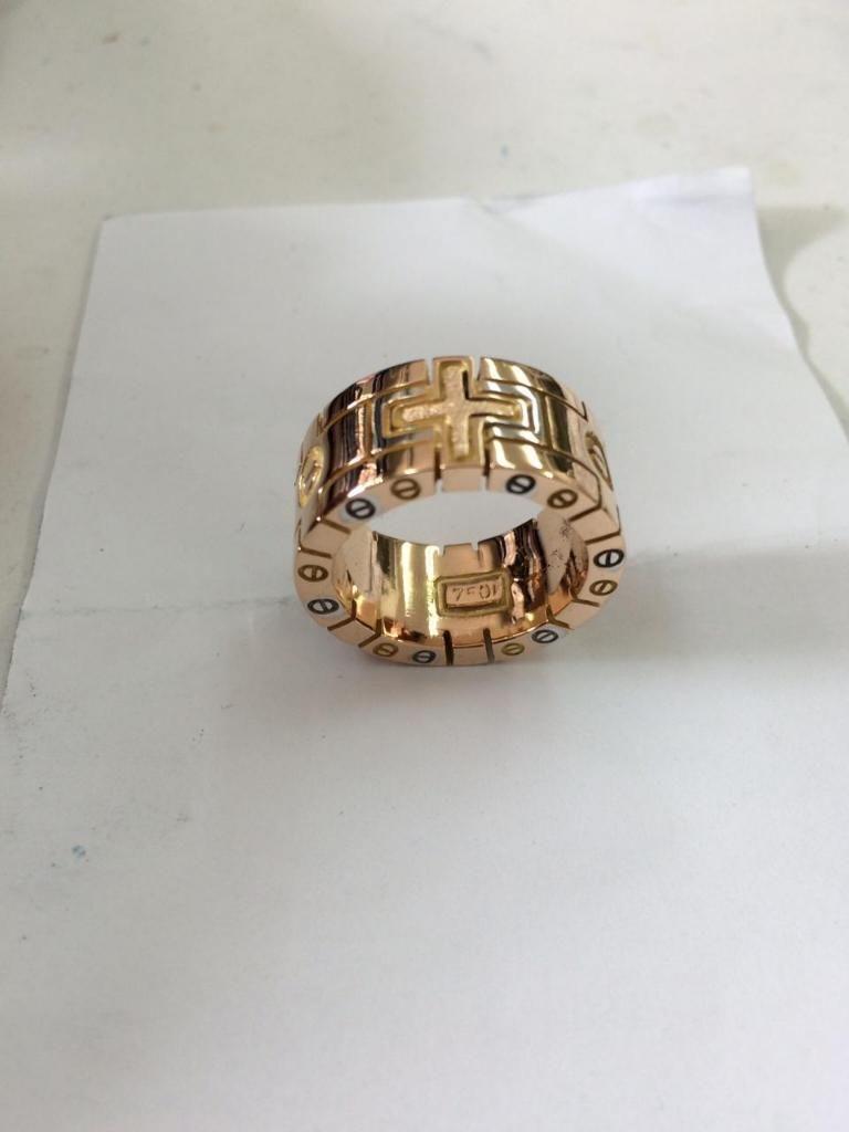 Argolla de Cartier Oro Rosado 18k