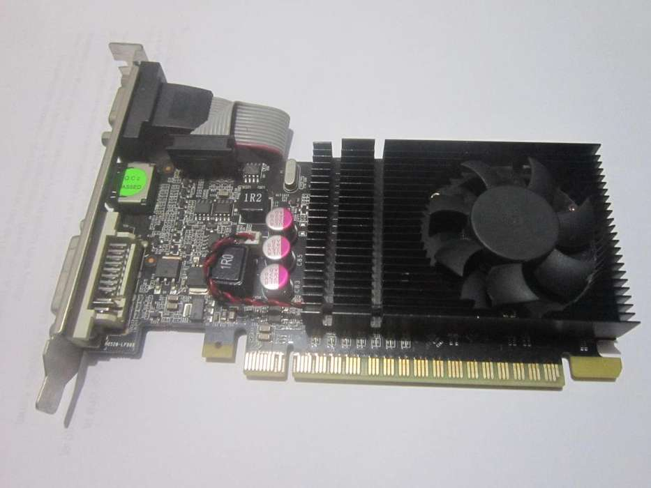 REMATO: TARJETA DE VIDEO NVIDIA 210 DDR3 1 gb