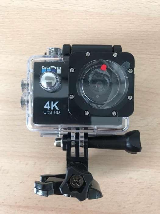 Camara 4K Modelo Gopro